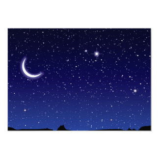 Moon & Stars Scene Card
