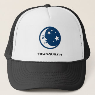 Moon Stars Tranquility Trucker Hat