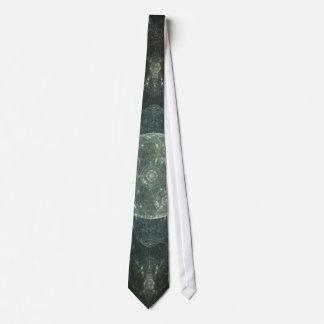 """Moon Station"" Fractal Art Neck Tie"