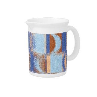 Moon Stripes Fade Pattern Drink Pitchers