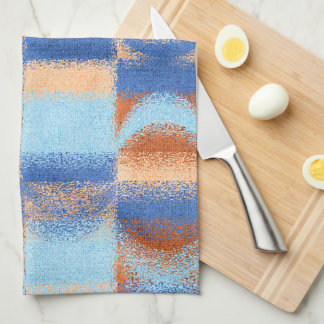 Moon Stripes Fade Pattern Hand Towels