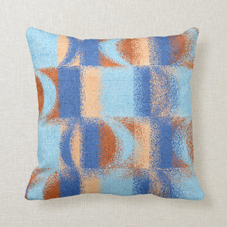Moon Stripes Fade Pattern Throw Pillow