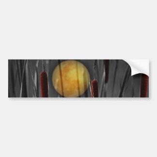Moon Struck Car Bumper Sticker