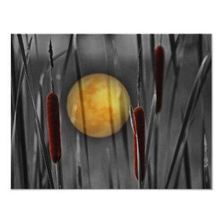 Moon Struck 4.25x5.5 Paper Invitation Card
