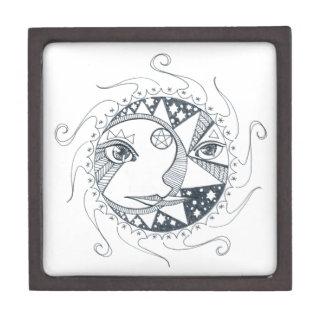 Moon Sun Mandala Gift Box