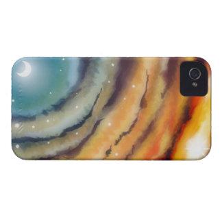 Moon Sunset Blackberry Case
