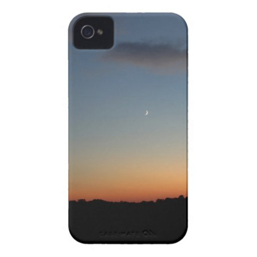 Moon Sunset Photo I Phone Case/Cover iPhone 4 Case-Mate Cases