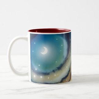 Moon Sunset Two-Tone Mug