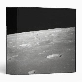 Moon Surface and Horizon 2 3 Ring Binder