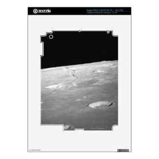 Moon Surface and Horizon 2 iPad 3 Skins