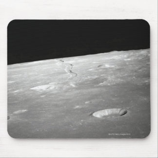 Moon Surface and Horizon 2 Mouse Pad