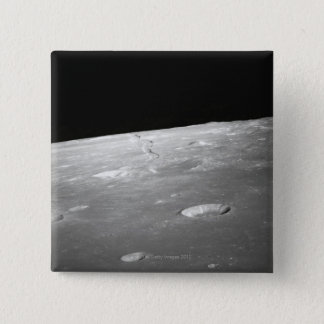 Moon Surface and Horizon 2 Pinback Button