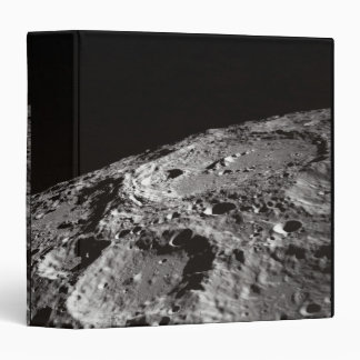 Moon Surface and Horizon 3 Ring Binders