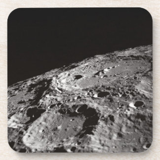 Moon Surface and Horizon Drink Coaster