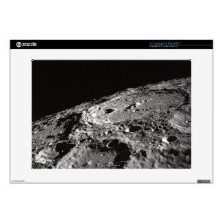 Moon Surface and Horizon Laptop Decal