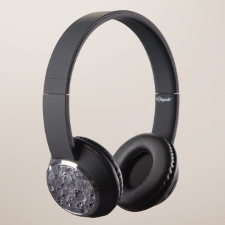 Moon surface headphones