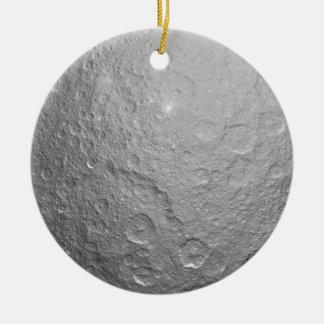 Moon Surface Texture Ceramic Ornament