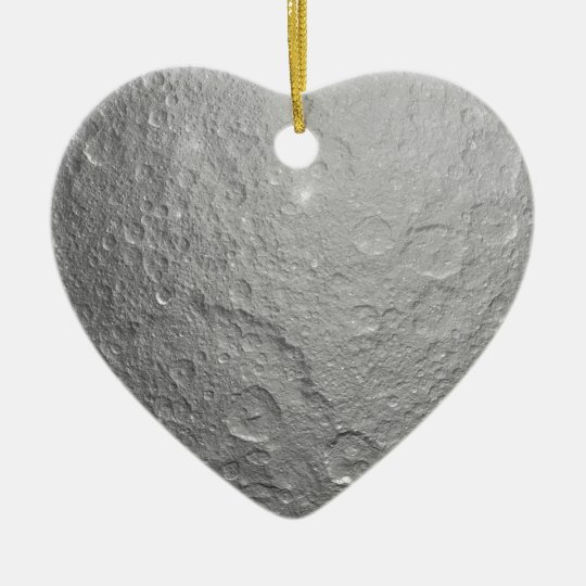 Moon Surface Texture Ceramic Ornament