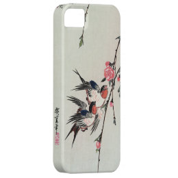 Moon, Swallows and Peach Blossoms iPhone 5 Case