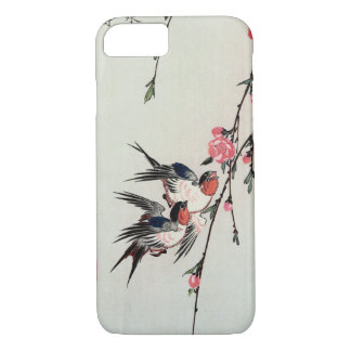 Moon, Swallows and Peach Blossoms iPhone 7 case
