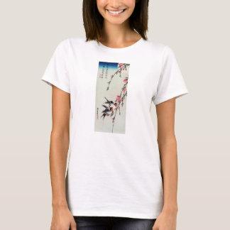 Moon, Swallows and Peach Blossoms T-shirt