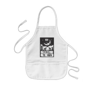 Moon Tarot Kids' Apron