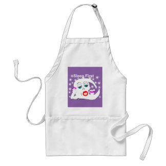 Moon, The Stars...Sleep is What We Need Adult Apron