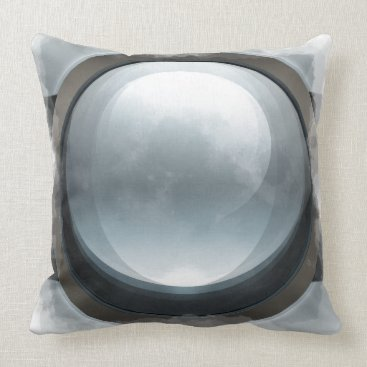 Professional Business Moon Throw Pillow
