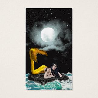 Moon Tide Mermaid Business Cards 1