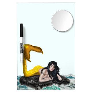 Moon Tide Mermaid Dry-Erase Board Medium w/ Mirror