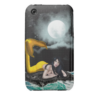 Moon Tide Mermaid iPhone 3G/3GS Tough Barely There iPhone 3 Cover