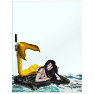 Moon Tide Mermaid Large Dry-Erase Board
