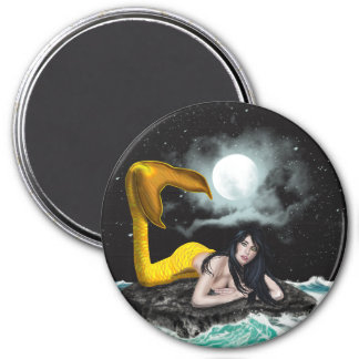 Moon Tide Mermaid Magnets