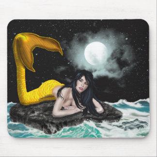 Moon Tide Mermaid Mousepad (Horizontal)