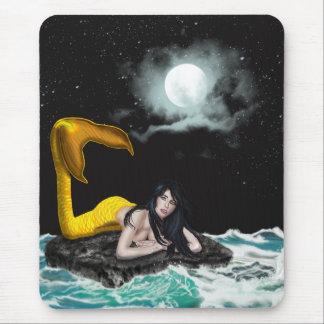 Moon Tide Mermaid Mousepad (Vertical)