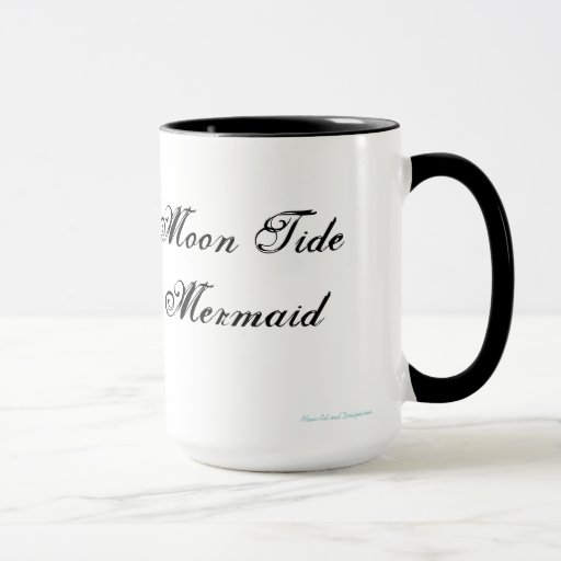 Moon Tide Mermaid Mugs