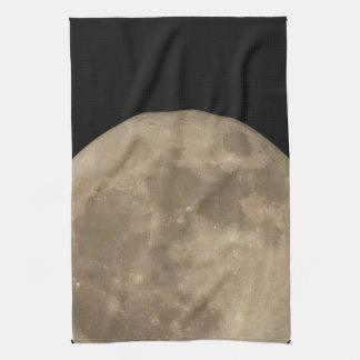 Moon Towel Full Moon Dish Towel Moon Decor