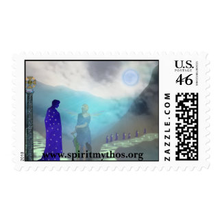 Moon Tribe Stamp