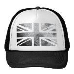 Moon Union Jack British(UK) Flag Trucker Hat