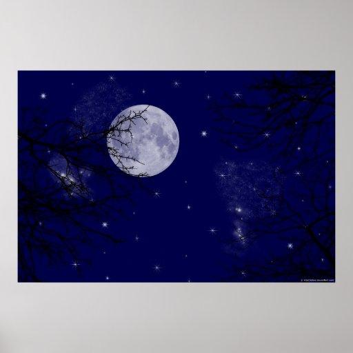 Moon View Print