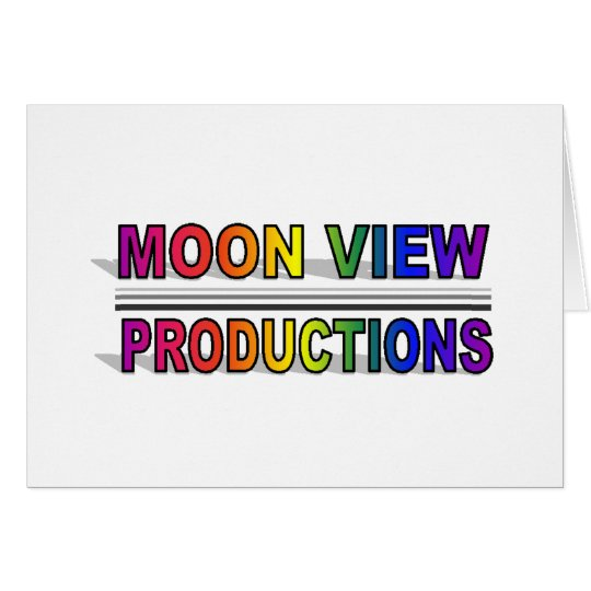 Moon View Productions Note Card