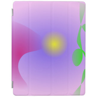 Moon Viewing Festival Pink Abstract iPad Cover