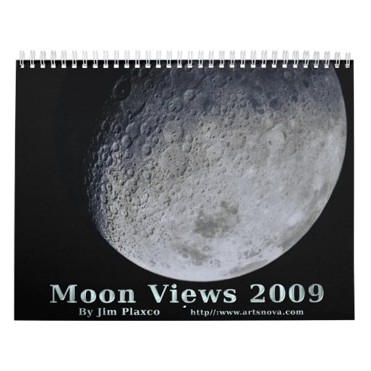 Moon Views 2009 Calendar