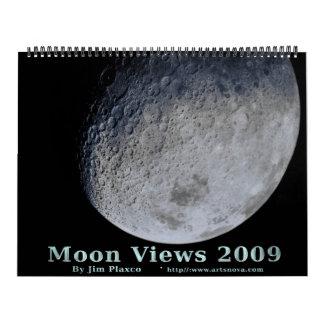 Moon Views 2009 Huge Calendar