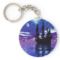 Moon Voyager Keychain