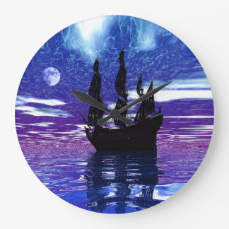 Moon Voyager Large Clock
