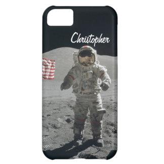 Moon walk astronaut space custom boys name iPhone 5C covers