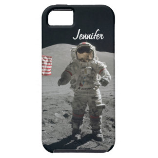 Moon walk astronaut space custom boys name iPhone 5 cases