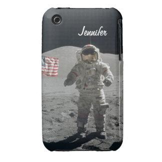 Moon walk astronaut space custom girls name iPhone 3 cases