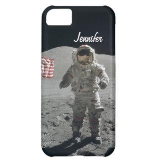Moon walk astronaut space custom girls name iPhone 5C case